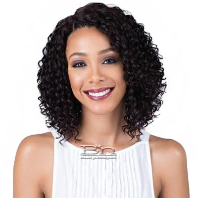Bobbi Boss 100% Brazilian Remi Human Hair Lace Front Wig - MHLF902 LIRA (4 inch deep part)