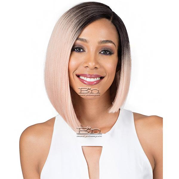 Bobbi Boss Synthetic Swiss Lace Front Wig - MLF201 NADINE (5 inch deep part)