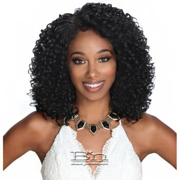 Zury Sis Diva Collection Synthetic Hair Pre Tweezed Part Lace Front Wig - DIVA LACE H MYSTY