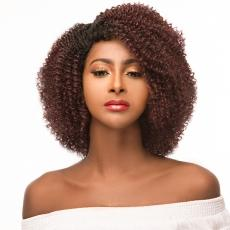 WIGO Collection Synthetic Hair Extreme Side Deep Natural Plucked C-Shape Part Wig - 4A TRACY (Ear-to-Ear Elastic Band Wig)