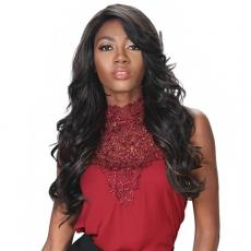 Zury Sis Prime Human Hair Blend Soft Swiss  Lace Wig - PM FP LACE CHERRY (4x4 free parting)