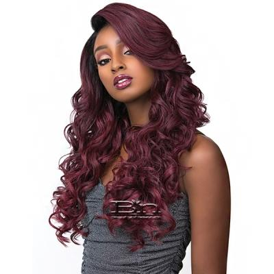 Sensationnel Synthetic Hair Empress Feather & Flare Deep Curved Part Lace Front Wig - ADRIANA
