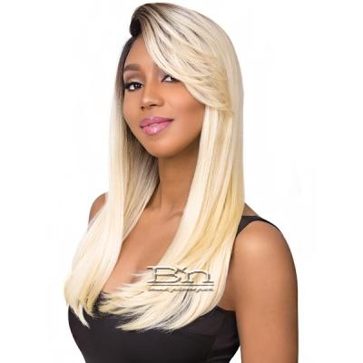 Sensationnel Synthetic Hair Empress Feather & Flare Deep Curved Part Lace Front Wig - NICOLE