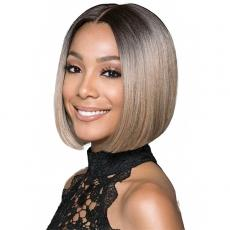 Bobbi Boss Synthetic Swiss Lace Front Wig - MLF217 LYNA SLEEK (5inch deep part)