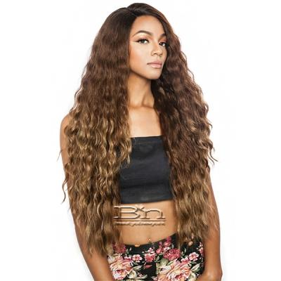 Isis Brown Sugar Human Hair Blend Soft Swiss Lace Wig - BS296 (Super Long 32)