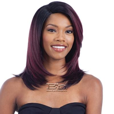 Model Model Synthetic Hair Deep Invisible L Part Wig - JULIET