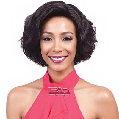 Bobbi Boss 100% Human Hair Lace Front Wig - MHLF500 DUNN (4x4 wide swiss lace)
