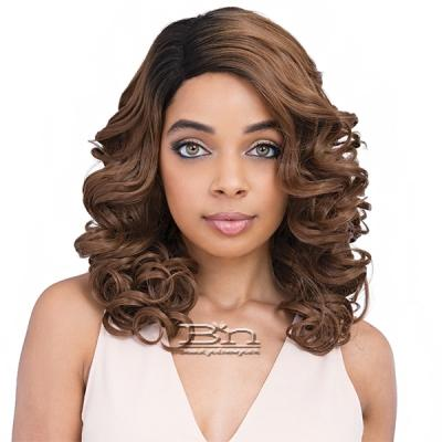 Janet Collection Natural Super Flow Deep Part Lace Wig - OSCAR