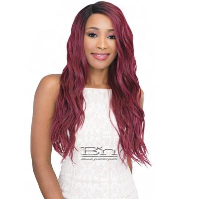 Janet Collection Natural Super Flow Deep Part Lace Wig - TINA