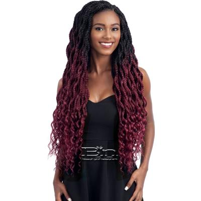 Freetress Synthetic Braid - ZOEY BRAID CURLY 26