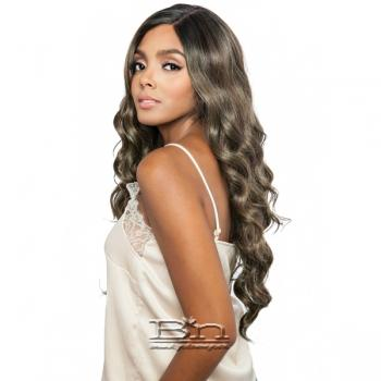 Isis Brown Sugar Human Hair Blend Side 2 Side Lace Front Wig - BSD2602 ROME ARI (6 inch deep lace)