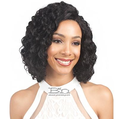 Bobbi Boss 100% Human Hair Swiss Lace Front Wig - MHLF400 LOVETA (4 inch deep part)
