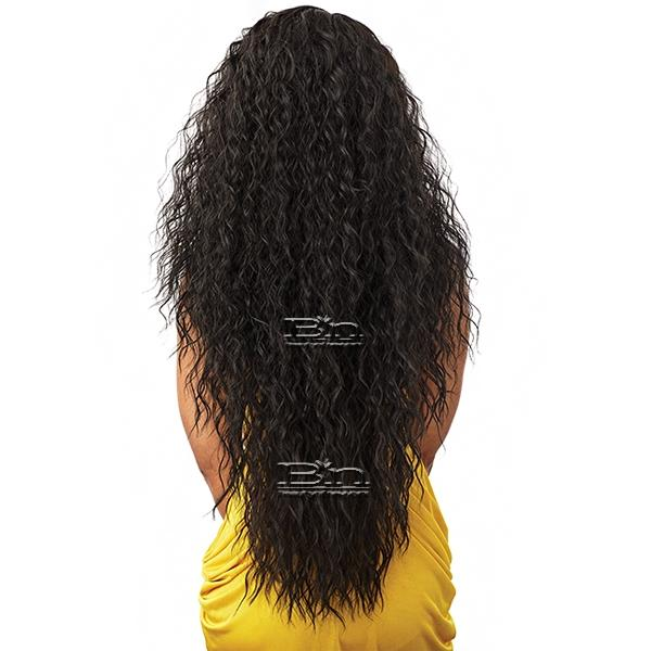 Sensationnel Synthetic Hair Empress Natural Curved Part Lace Front Wig - TUSCANY