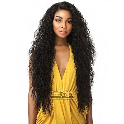 Sensationnel Empress Natural Curved Part Lace Front Wig - TUSCANY
