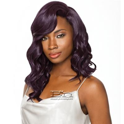 Outre Synthetic Full Cap Extreme Side Part Wig Quick Weave Complete Cap Lace Plus - GALEN (futura)