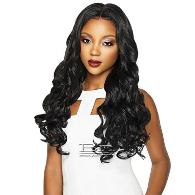 Outre Synthetic Swiss X Lace Front Wig - VIXEN ROMANCE CURL (4 Way Part Cap Construction)