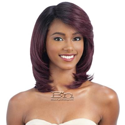 Freetress Equal Synthetic Hair Deep Diagonal Part Lace Wig - WHITE BLOSSOM