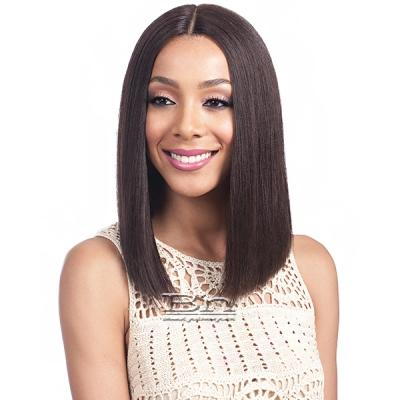 Bobbi Boss 100% Human Hair Swiss Lace Front Wig - MHLF900 BINARA (5 inch deep part)