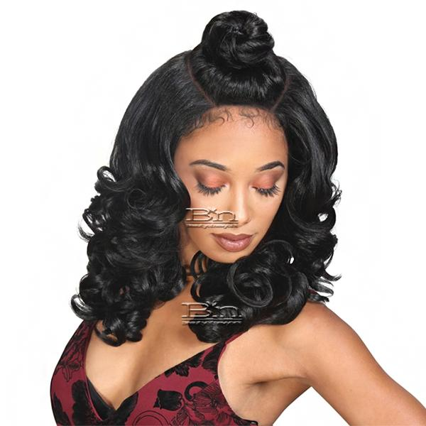 Zury Sis Beyond Synthetic Hair Moon Part  Lace Wig - BYD MP LACE H KENZIE