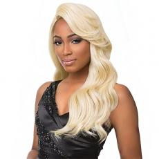 Sensationnel Synthetic Hair Empress Feather & Flare Deep Curved Part Lace Front Wig - JORDAN