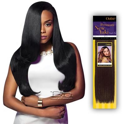 Outre 100% Human Hair Weaving - PREMIUM NEW YAKI 10