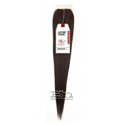 Sensationnel 100% Virgin Human Hair Bare & Natural - 7A STRAIGHT LACE PART CLOSURE 14