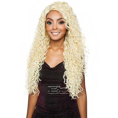 Isis Brown Sugar Human Hair Blend Full Wig - BS1604 (6 inch Deep Part)