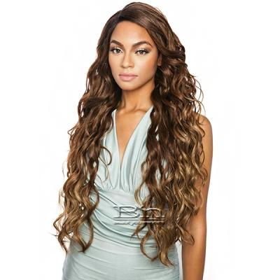 Isis Brown Sugar Human Hair Blend Soft Swiss Lace Wig - BS298 (Super Long 32)