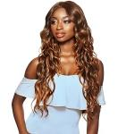 Outre Synthetic Swiss Lace Front Wig - SORAYA (6 inch swiss lace deep parting)