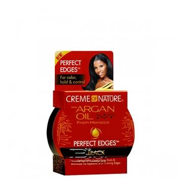 Creme Of Nature Argan Oil Perfect Edges Black 2.25oz