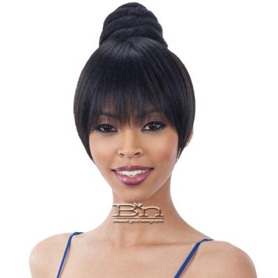 Freetress Equal China Bun & Bang 2PCS - SWIRL BUN BANG