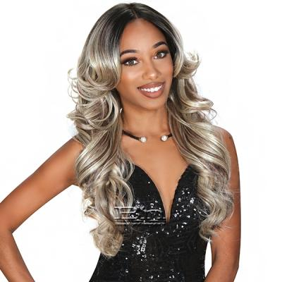 Zury Sis Glam Synthetic Hair Lace Front Wig - GLAM LACE H MYRA