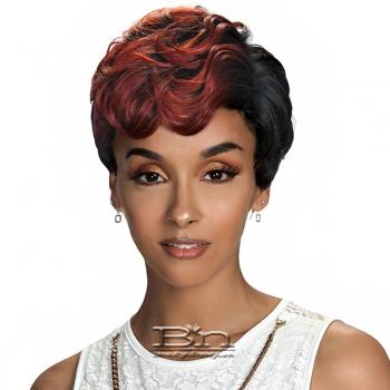 Zury Sis Sassy Synthetic Hair Wig - SASSY RC H DEAN (4 inch Side Hand-Tied Part)