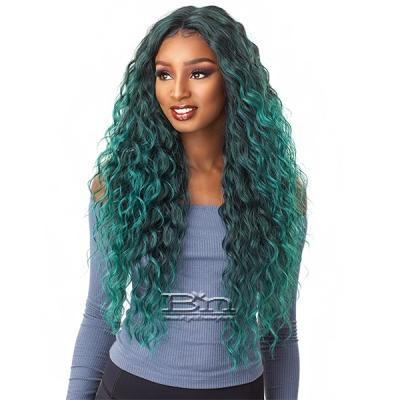 Sensationnel Synthetic Hair Empress Natural Center Part Lace Front Wig - ANYA