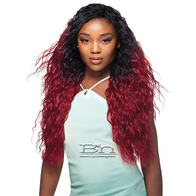 Outre Batik Duo Bundle Synthetic Weave - JAMAICAN BEACH WAVE 5PCS (16/18/20/22 + Parting Piece)