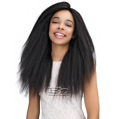 Janet Collection 100% Natural Virgin Remy Human Hair 360 Circular Frontal Lace Wig - 360 LACE PERM STRAIGHT WIG 18