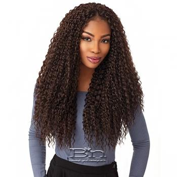 Sensationnel Lulutress Synthetic Braid - WET CURLY 18