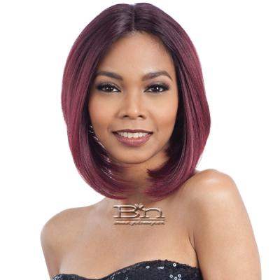 Model Model Synthetic Hair Clean Cap Lace Wig - CYNTHIA