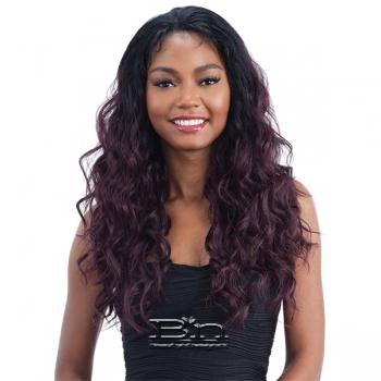 Model Model Synthetic Frontal Lace Wig - FLO