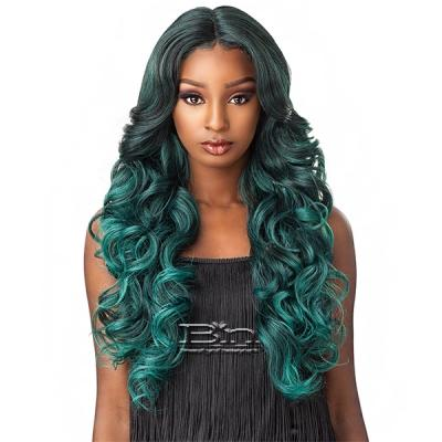Sensationnel Empress Lace Natural Center Part Lace Front Wig - TRISSA