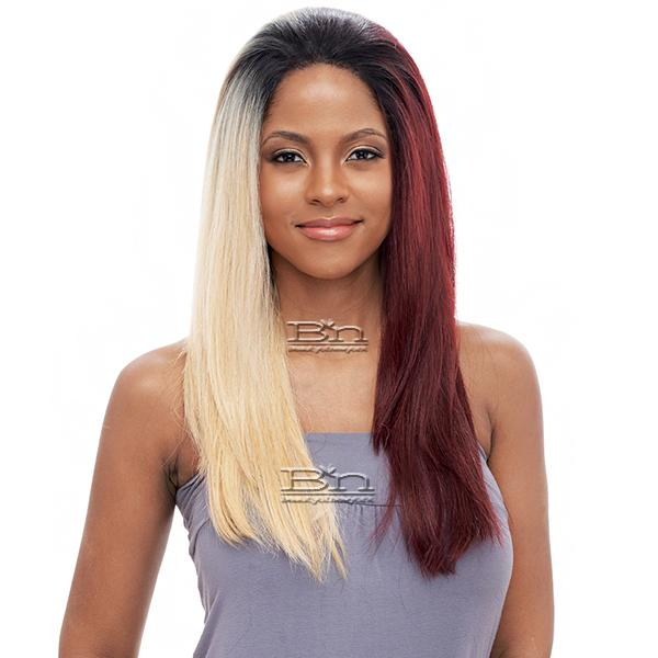 Vanessa Human Hair Blend Swissilk Lace Wig - T4HB OLEXY (4x4 deep front lace)