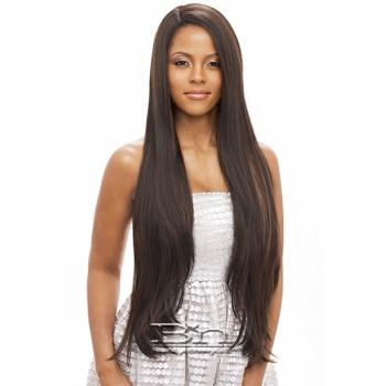 Vanessa Human Hair Blend Swissilk C Part Lace Front Wig - TCHB ELGANY