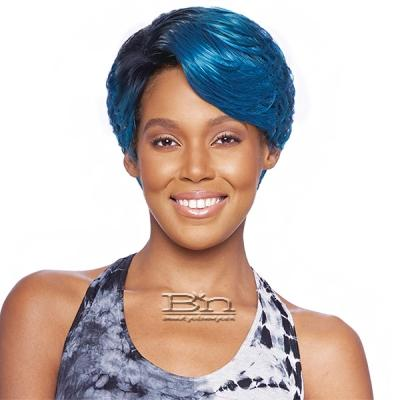 Vanessa Synthetic Hair Lace Part Wig - SUPER C VANTY