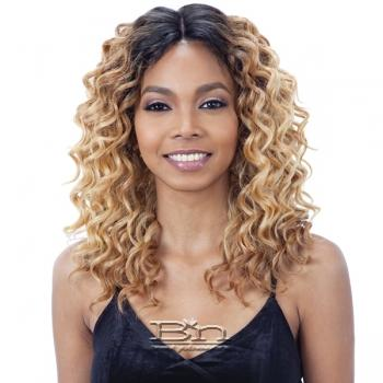 Model Model Synthetic Lace Deep Invisible Part Lace Front Wig - IRINA