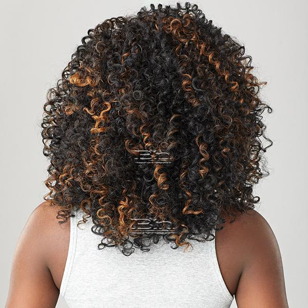Sensationnel Curls Kinks & Co Synthetic Half Wig Instant Weave - SHOW STOPPER (futura)