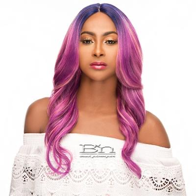 WIGO Collection Synthetic Hair Extreme Deep Natural Plucked Lace Front Wig - LACE NOVA (Ear-to-Ear Elastic Band Wig)