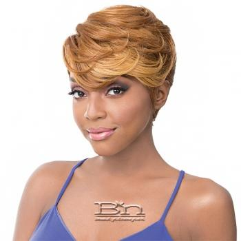 It's a wig Synthetic Wig - ORIA (Real Hair Line Part)