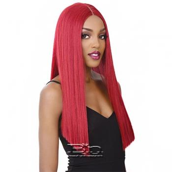 It's A Lace Front Wig - Synthetic Iron Friendly Lace Front Wig - SWISS LACE ALEXA (6inch deep part)
