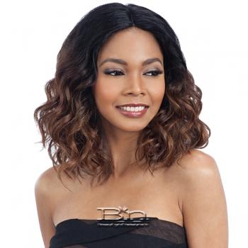 Model Model Synthetic Hair Deep Invisible Part Wig - JOANNA