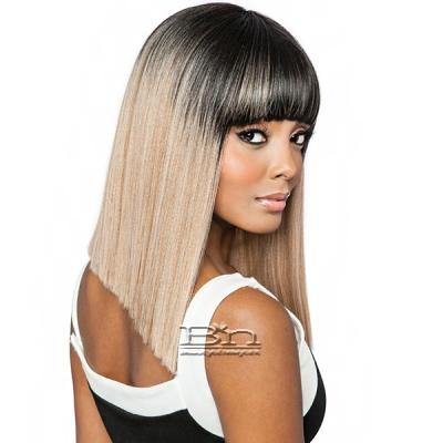 Isis Melanin Queen Human Hair Blend Wig - ML101